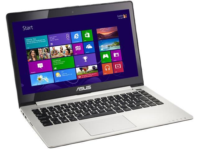 ASUS Laptop VivoBook S400CA-DS31T-CA Intel Core i3 3217U (1.80 GHz) 4 GB Memory 500 GB HDD Intel HD Graphics 4000 14.1