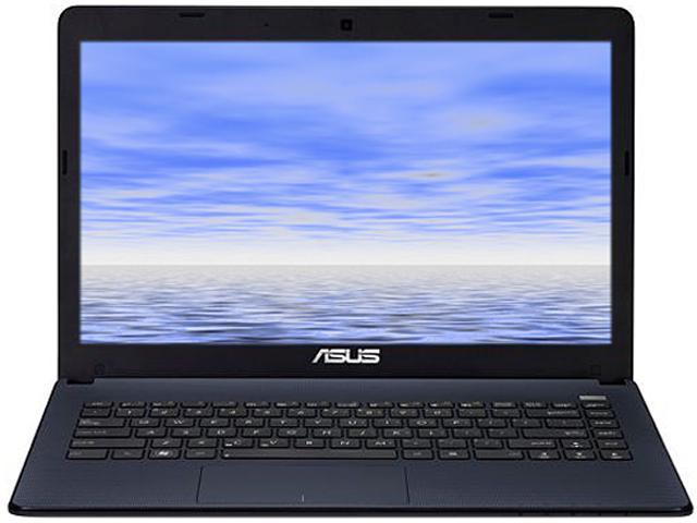 ASUS Notebook, B Grade Scratch and Dent. X401URF-EBL4-B AMD Dual-Core Processor E1-1200 (1.4 GHz) 4 GB Memory 320 GB HDD AMD Radeon HD 7310 14.0