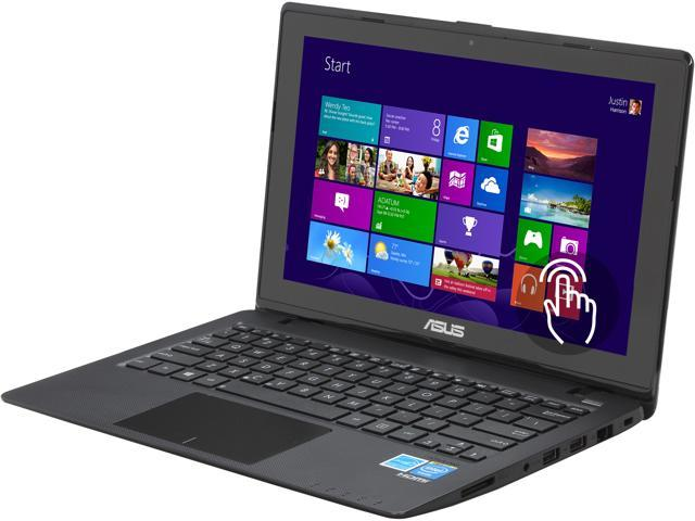 "ASUS Laptop X200CA-DB01T Intel Celeron 1007U (1.5 GHz) 2 GB Memory 320 GB HDD Intel HD Graphics 11.6"" Touchscreen Windows ..."