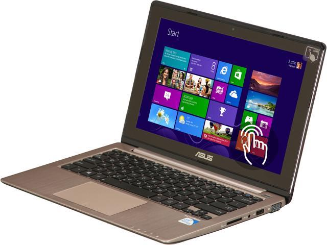 ASUS Laptop VivoBook X202E-DB21T Intel Pentium 2117U (1.80 GHz) 4 GB Memory 500 GB HDD Intel HD Graphics 11.6