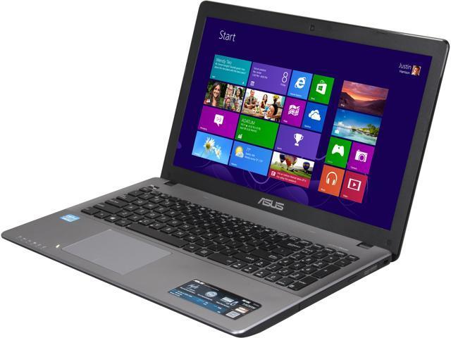 "ASUS Laptop R510CA-RB31 Intel Core i3 3217U (1.80 GHz) 6 GB Memory 500 GB HDD Intel GMA HD Graphics 15.6"" Windows 8"