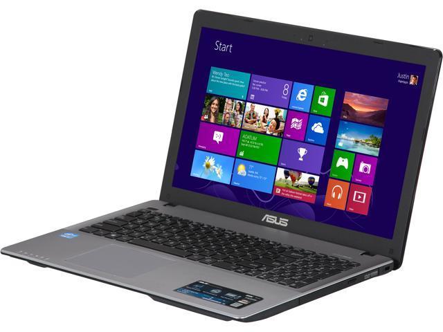 """ASUS Laptop X550CA-DB71 Intel Core i7 3537U (2.00 GHz) 8 GB Memory 1 TB HDD Intel HD Graphics 4000 15.6"""" Windows 8 64-Bit"""