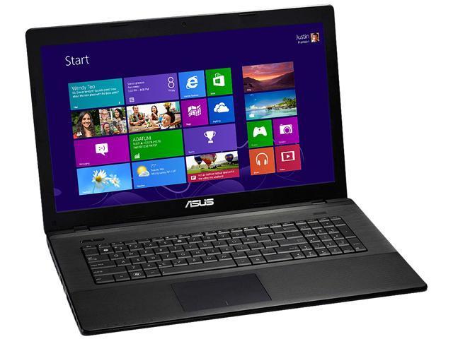 ASUS F75A-WH31 Notebook (Grade A) Intel Core i3 2350M (2.30GHz) 6GB Memory 750GB HDD Intel GMA HD Graphics 17.3