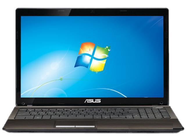 "ASUS Notebook (Grade A) X53U-XR1 AMD Dual-Core Processor C-50 (1.0 GHz) 3 GB Memory 320 GB HDD ATI Radeon HD 4250 15.6"" Windows ..."