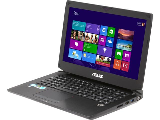 ASUS Laptop G46VW-BSI5N06 Intel Core i5 3230M (2.60 GHz) 8 GB Memory 750 GB HDD NVIDIA GeForce GTX 660M 14.0