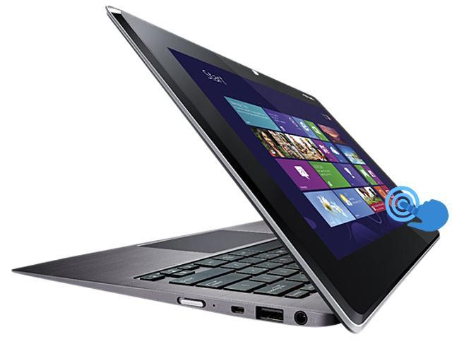 "ASUS Taichi 21-DH71 Intel Core i7 4 GB Memory 256 GB SSD 11.6"" Touchscreen Ultrabook (Grade A) Windows 8"