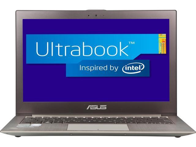 "ASUS Zenbook UX32A-DB32-CB Intel Core i3 6 GB Memory 500 GB HDD 24 GB SSD 13.3"" Ultrabook, Bilingual Windows 7 Home Premium ..."