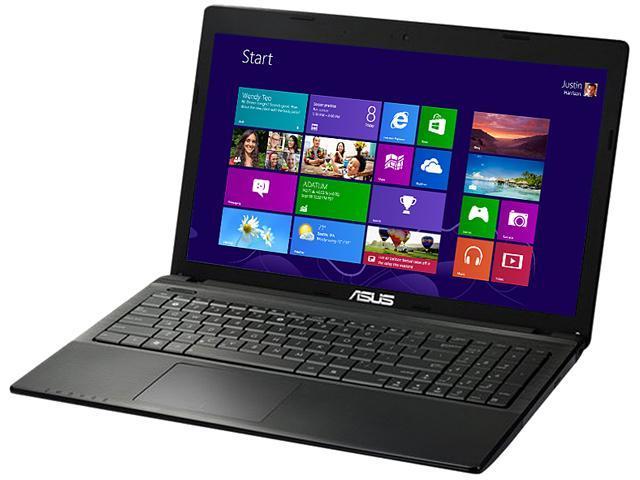 "ASUS Laptop X55U-AB21 AMD E2-Series E2-1800 (1.7 GHz) 4 GB Memory 500 GB HDD AMD Radeon HD 7340 15.6"" Windows 8 64-bit"