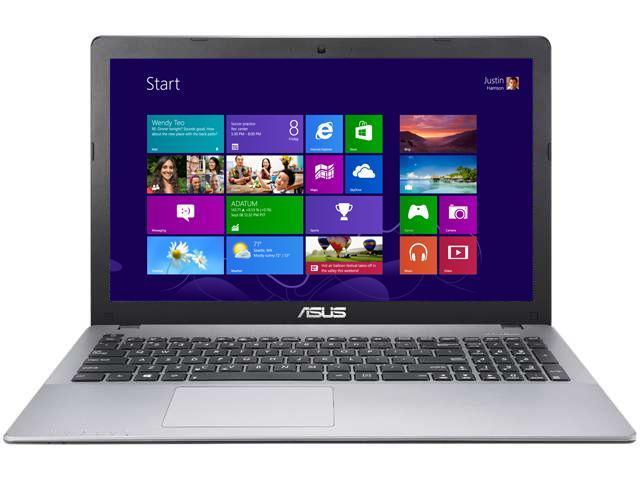 ASUS Laptop D550CA-BH01 Intel Celeron 1007U (1.5 GHz) 4 GB Memory 320 GB HDD Intel HD Graphics 15.6