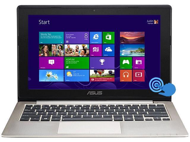 "ASUS Laptop VivoBook X202E-DB91T Intel Pentium dual-core 987 (1.5 GHz) 4 GB Memory 500 GB HDD Intel HD Graphics 11.6"" Touchscreen ..."