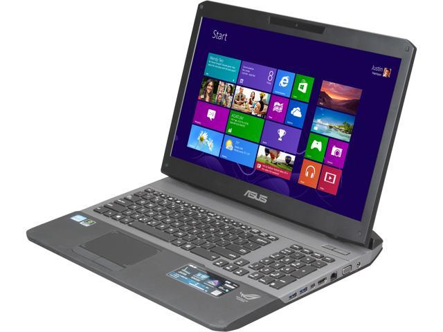 ASUS Certified Refurbished Laptop G75VW-RH71 Intel Core i7 3630QM (2.40 GHz) 12 GB Memory 750 GB HDD NVIDIA GeForce GTX 670M 17.3