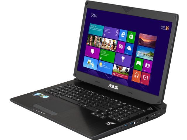 "ASUS ROG G750 Series G750JW-BBI7N05 Gaming Laptop Intel Core i7-4700HQ 2.4GHz 17.3"" Windows 8"