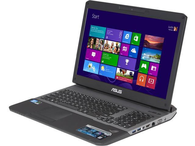 ASUS Laptop G75VX-TS72 Intel Core i7 3630QM (2.40 GHz) 16 GB Memory 750 GB HDD NVIDIA GeForce GTX 670MX 17.3