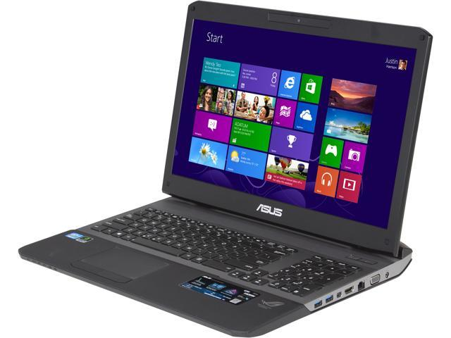 "ASUS G75VW-DH72 Gaming Laptop Intel Core i7-3630QM 2.4GHz 17.3"" Windows 8"