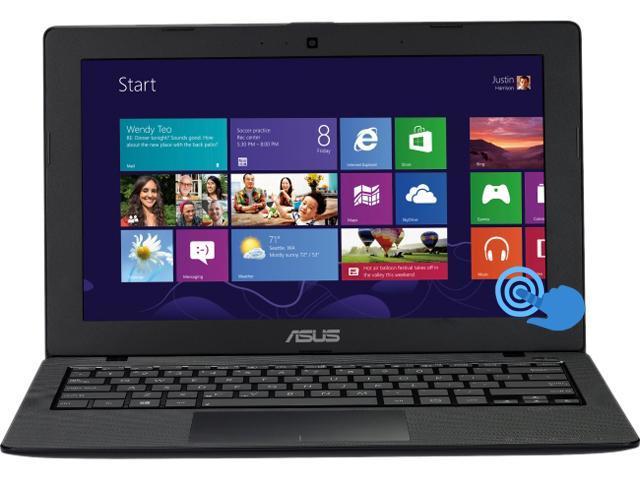 "ASUS VivoBook X200CA-DB01T Intel Celeron Dual-Core 2 GB Memory 320 GB HDD 11.6"" Touchscreen Ultrabook Windows 8 64-bit"