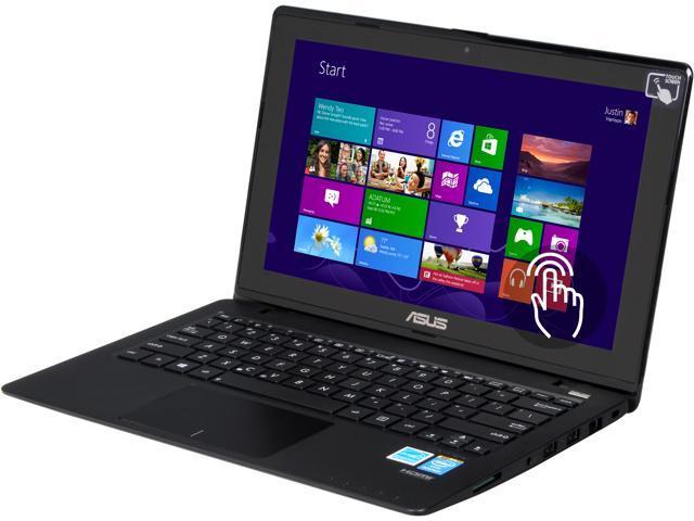 ASUS Laptop X200CA-DH21T (90NB02X6-M06050) Intel Pentium dual-core 2117U (1.80 GHz) 4 GB Memory 500 GB HDD Intel HD Graphics 11.6