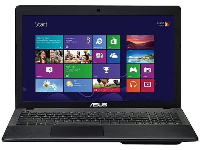 ASUS 90NB03RB-M00220 Notebook AMD E1-Series E1-2100 (1.00GHz) 4GB Memory 500GB HDD AMD Radeon HD 8210 15.6