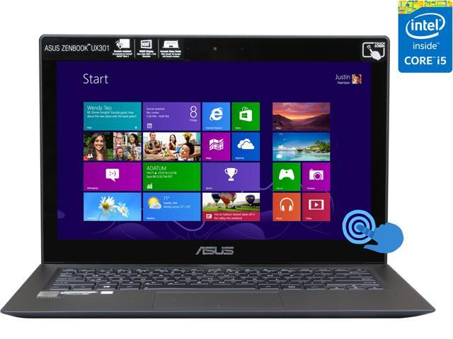 ASUS Zenbook UX301LA-DH51T Ultrabook Intel Core i5 4200U (1.60 GHz) 2 x 128GB SSD SSD Intel HD Graphics 4400 Shared memory 13.3