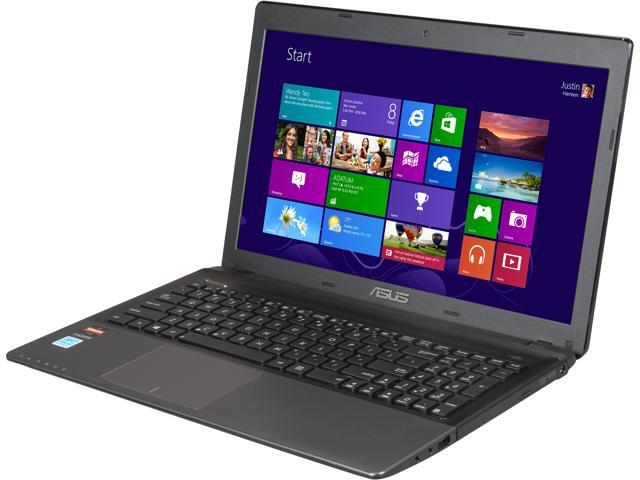 "ASUS Laptop K55N-SA80403V AMD A8-Series A8-4500M (1.90 GHz) 4 GB Memory 500 GB HDD AMD Radeon HD 7640G 15.6"" Windows 8 64-bit"