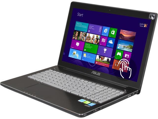 "ASUS Laptop Q550LF-BBI7T07 Intel Core i7 4500U (1.80 GHz) 8 GB Memory 1 TB HDD NVIDIA GeForce GT 745M 15.6"" Touchscreen Windows ..."