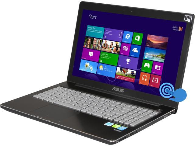 "ASUS Q550LF-BBI7T07 15.6"" Touchscreen FULL HD 1920 x 1080 Notebook Intel Core i7 4500U 1.80GHz, 8GB RAM, 1TB HDD, NVIDIA GeForce GT 745M, DVD±R/RW, Windows 8, Grade B: Minor Cosmetic Imperfection"
