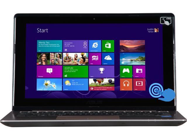 "ASUS Q200E-BCL0803E Intel Celeron 4 GB Memory 320 GB HDD 11.6"" Touchscreen Ultrabook Windows 8"