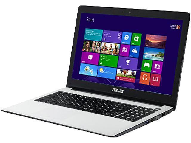 "ASUS Laptop X502CA-RB01-WT Intel Celeron 1007U (1.5 GHz) 4 GB Memory 320 GB HDD Intel HD Graphics 15.6"" Windows 8 64bit"