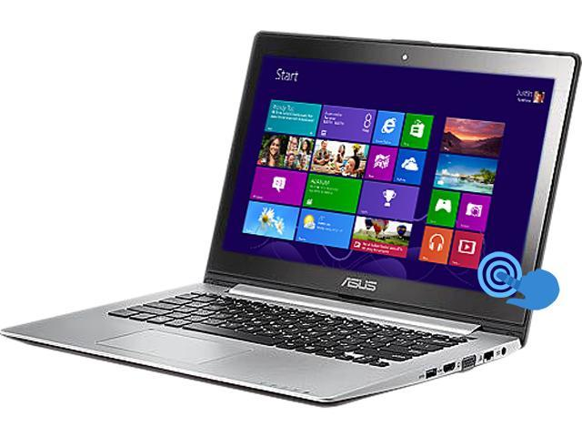 "ASUS Laptop VivoBook S300CA-BBI5T01 Intel Core i5 3337U (1.80 GHz) 4 GB Memory 500 GB HDD Intel HD Graphics 4000 13.3"" Touchscreen ..."