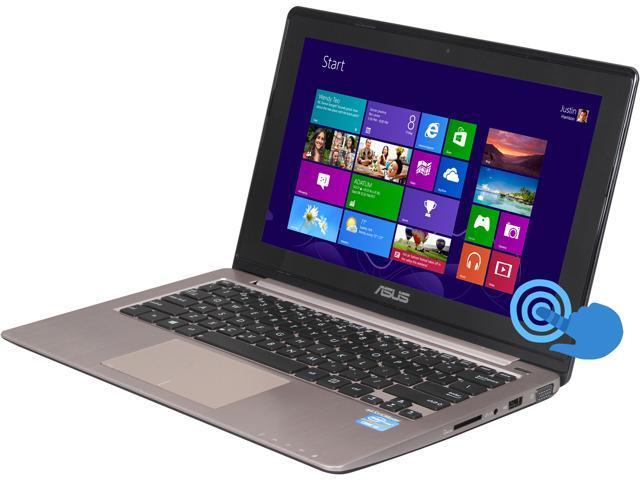 "ASUS Laptop VivoBook S200E-RHI3T73 Intel Core i3 3217U (1.80 GHz) 4 GB Memory 500 GB HDD Intel HD Graphics 4000 11.6"" Touchscreen ..."