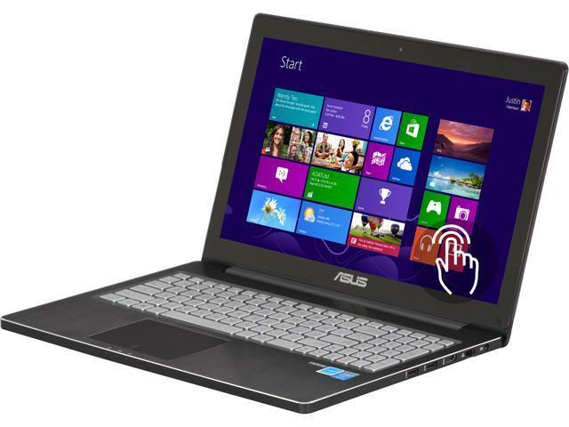 "ASUS Laptop Q501LA-BBI5T03 Intel Core i5 4200U (1.60 GHz) 6 GB Memory 750 GB HDD Intel HD Graphics 4400 15.6"" Touchscreen ..."