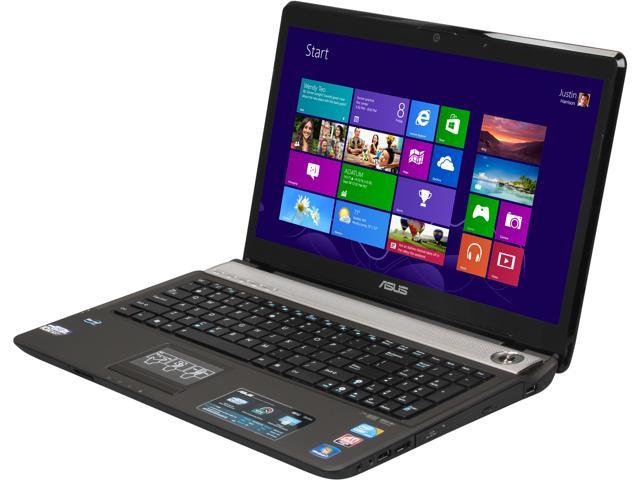 "ASUS Laptop N61JQ-B2 Intel Core i7 740QM (1.73 GHz) 4 GB Memory 500 GB HDD ATI Mobility Radeon HD 5730 16.0"" Windows 7 Home ..."