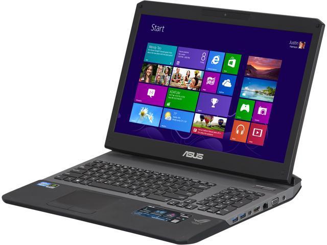 "ASUS Laptop G75VW-DH71-CA Intel Core i7 3630QM (2.40 GHz) 12 GB Memory 1.5 TB HDD NVIDIA GeForce GTX 660M 17.3"" Windows 8 ..."