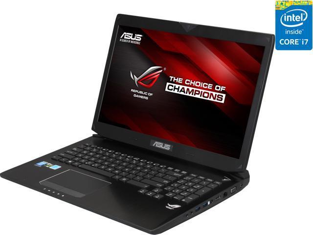 "ASUS ROG G750 Series G750JM-DS71 Gaming Laptop Intel Core i7 4700HQ (2.40GHz) 17.3"" Windows 8.1 64-Bit"