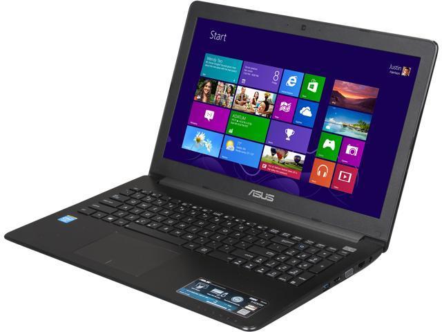 ASUS Certified Refurbished Laptop X502CA-RB01 Intel Celeron 1007U (1.5 GHz) 4 GB Memory 320 GB HDD Intel HD Graphics 15.6