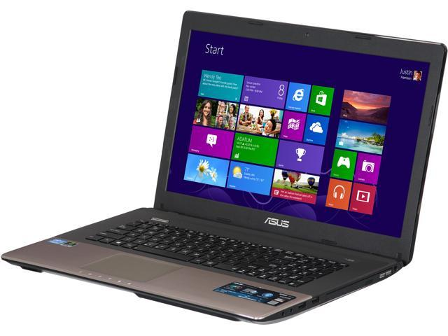 "ASUS Laptop K73SD-DS51 Intel Core i7 3630QM (2.40 GHz) 8 GB Memory 1 TB HDD NVIDIA GeForce GT 635M 17.3"" Windows 8"