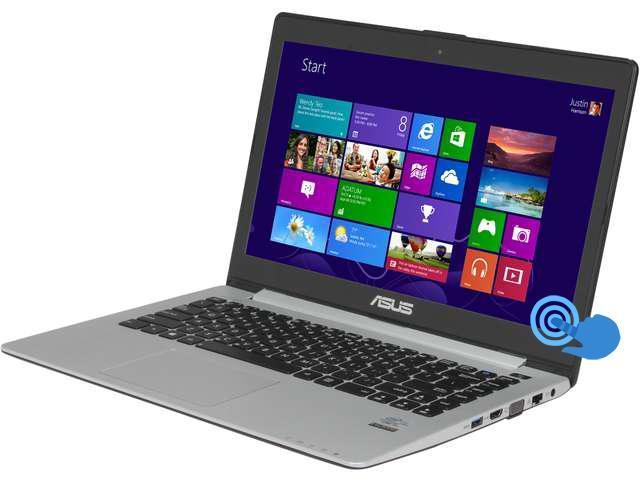 ASUS VivoBook S400CA-UH51T Ultrabook Intel Core i5 3317U (1.70 GHz) 500 GB HDD 24 GB SSD Intel HD Graphics 4000 Shared memory 14