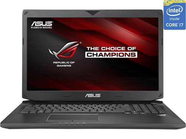 "ASUS ROG G750 Series G750JZ-XS72 Gaming Laptop Intel Core i7-4700HQ 2.4GHz 17.3"" Windows 8.1 Pro 64-Bit"