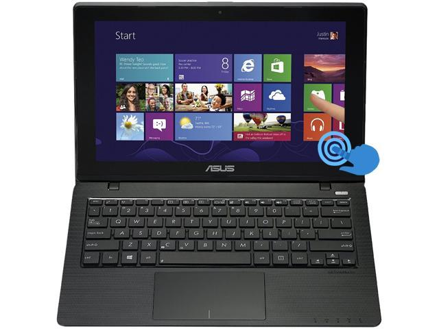 "ASUS Laptop K200MA-DS01T-RD Intel Celeron N2815 (1.86 GHz) 4 GB Memory 500 GB HDD Intel HD Graphics 11.6"" Touchscreen Windows ..."