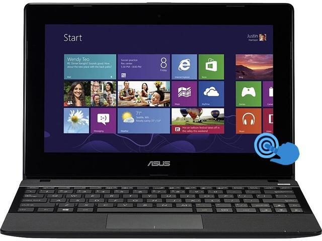 ASUS Laptop CLD-RRX102BA-BH41T-K AMD A4-Series A4-1200 (1.00 GHz) 2 GB Memory 320 GB HDD AMD Radeon HD 8180 10.1
