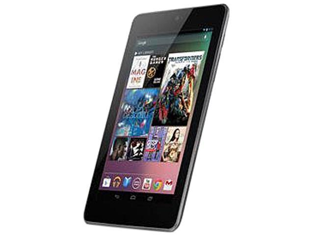 "Refurbished: ASUS Nexus 7 NVIDIA Tegra 3 1 GB Memory 16 GB Storage 7.0"" Touchscreen Tablet Android 4.1 (Jelly Bean)"