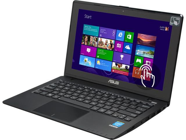 "ASUS X200CA-HCL1104G 11.6"" Touchscreen Notebook Intel Celeron 1007U (1.5GHz), 4GB Memory, 320GB HDD, Windows 8, Grade B: Minor Cosmetic Imperfection"