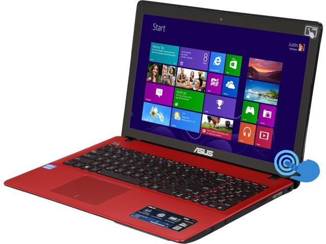 ASUS K550CADH31T-RD Notebook Intel Core i3 3217U (1.80GHz) 4GB Memory 500GB HDD  DVDRW  HDMI  Webcam  Intel HD Graphics 4000 15.6