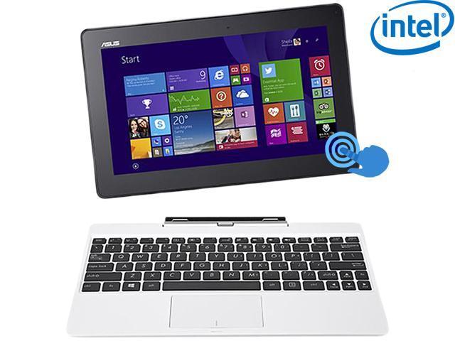 "ASUS Transformer Book T100 Intel Z3775 Quad Core 2GB DDR3 RAM 64GB SSD 10.1"" Touchscreen 2in1 Tablet w/Dock, Windows 8.1- ..."