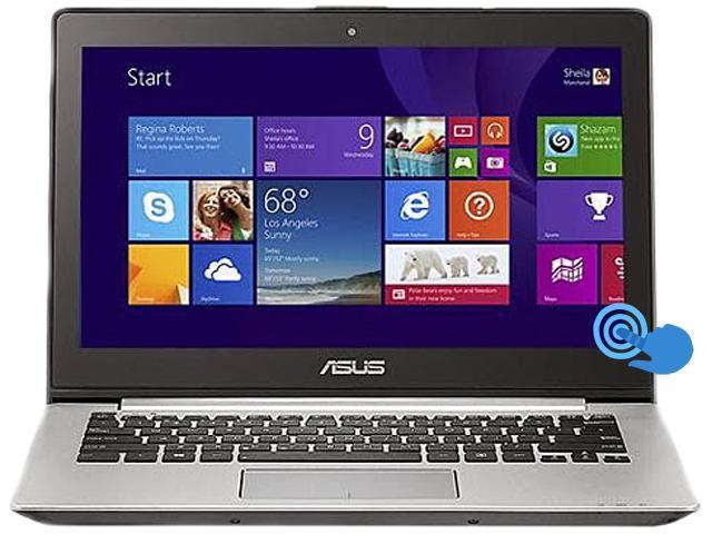 ASUS Laptop VivoBook ASQ301LA-BSI5T17-S Intel Core i5 1.60GHz 6GB Memory 500GB HDD Intel HD Graphics 4400 13.3