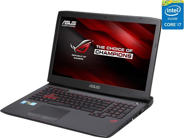 ASUS ROG G751JT-CH71 Gaming Laptop 4th Generation Intel Core i7 4710HQ (2.50 GHz) 16 GB Memory 1 TB HDD NVIDIA GeForce GTX 970M 3 GB 17.3