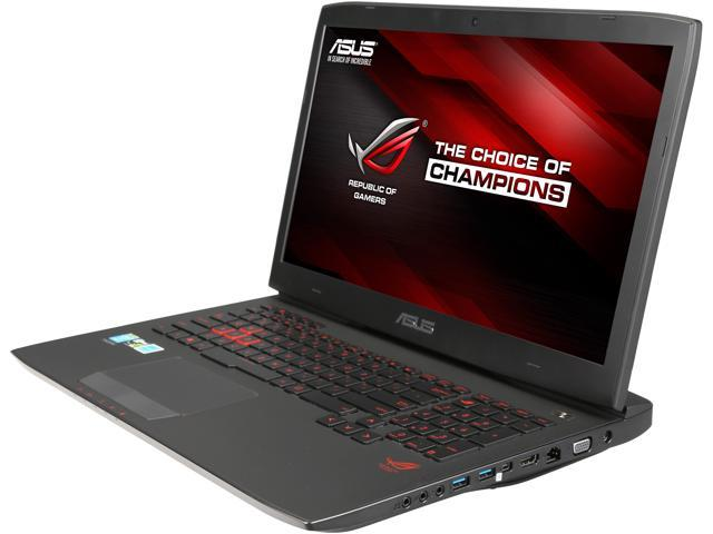 ASUS ROG G751JT-DH72 Certified Refurbished Gaming Laptop Intel Core i7 4710HQ (2.50 GHz) 16 GB Memory 1 TB HDD 256 GB SSD NVIDIA GeForce GTX 970M 3 GB 17.3