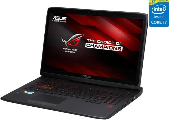 ASUS G751JL-BSI7T28 Gaming Laptop Intel Core i7 4th Gen 4720HQ (2.60 GHz) 8 GB Memory 1 TB HDD NVIDIA GeForce GTX 965M 2 GB 17.3