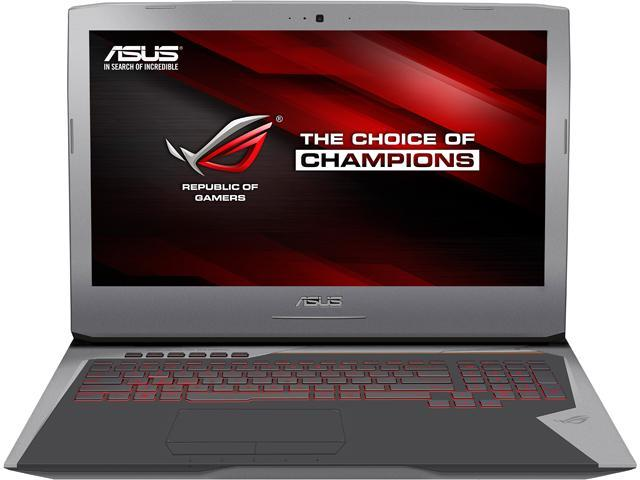 ASUS ROG G752VY-DH78K Gaming Laptop Intel Core i7 6820HK (2.70 GHz) 64 GB Memory 1 TB HDD 512 GB (PCIEG3x4) SSD NVIDIA GeForce GTX 980M 8 GB GDDR5 17.3