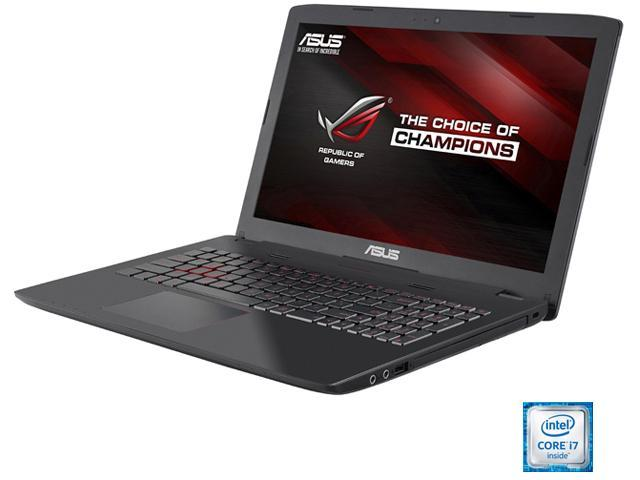 "ASUS ROG GL552VW-DH71 Gaming Laptop Intel Core i7 6700HQ (2.60 GHz) 16 GB Memory 1 TB HDD NVIDIA GeForce GTX 960M 2 GB GDDR5 15.6"" Windows 10 Home 64-Bit"