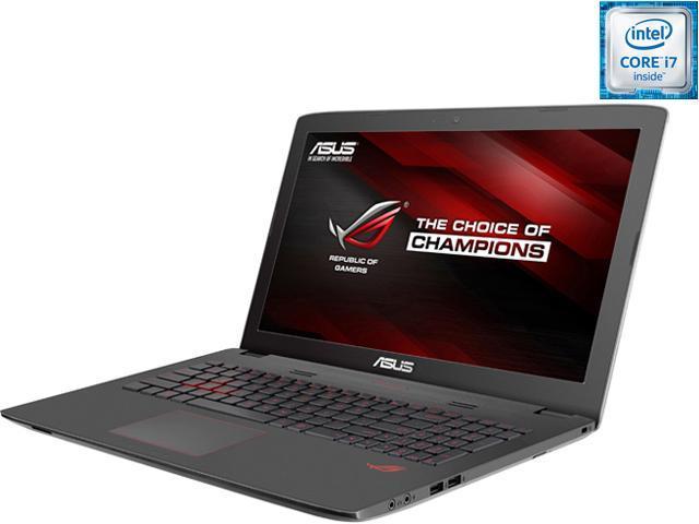 ASUS ROG GL752VW-DH71 Gaming Laptop Intel Core i7 6700HQ (2.60 GHz) 16 GB Memory 1 TB HDD NVIDIA GeForce GTX 960M 2 GB GDDR5 17.3